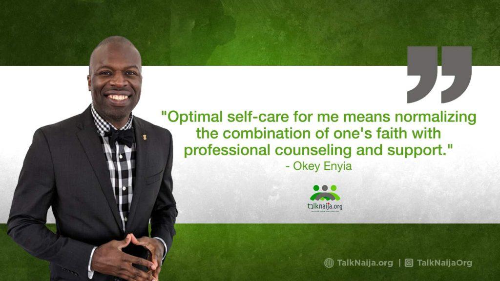 Okey Enyia's Story